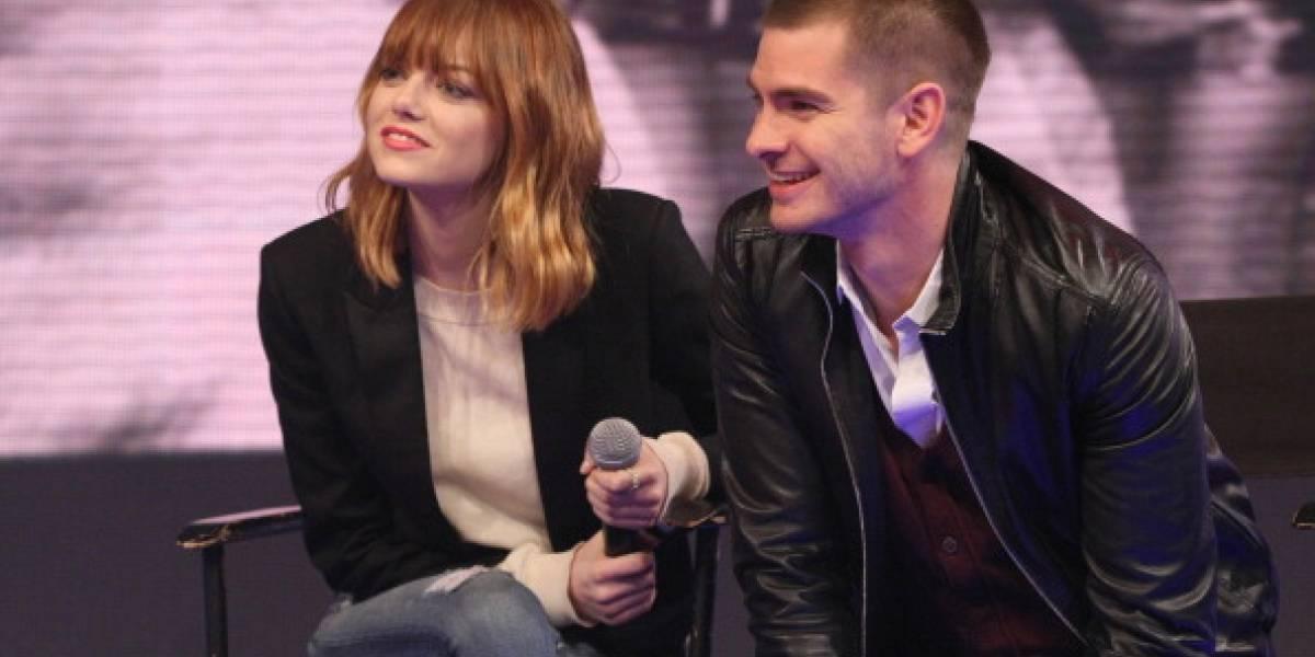 Emma Stone retoma su romance con Andrew Garfield
