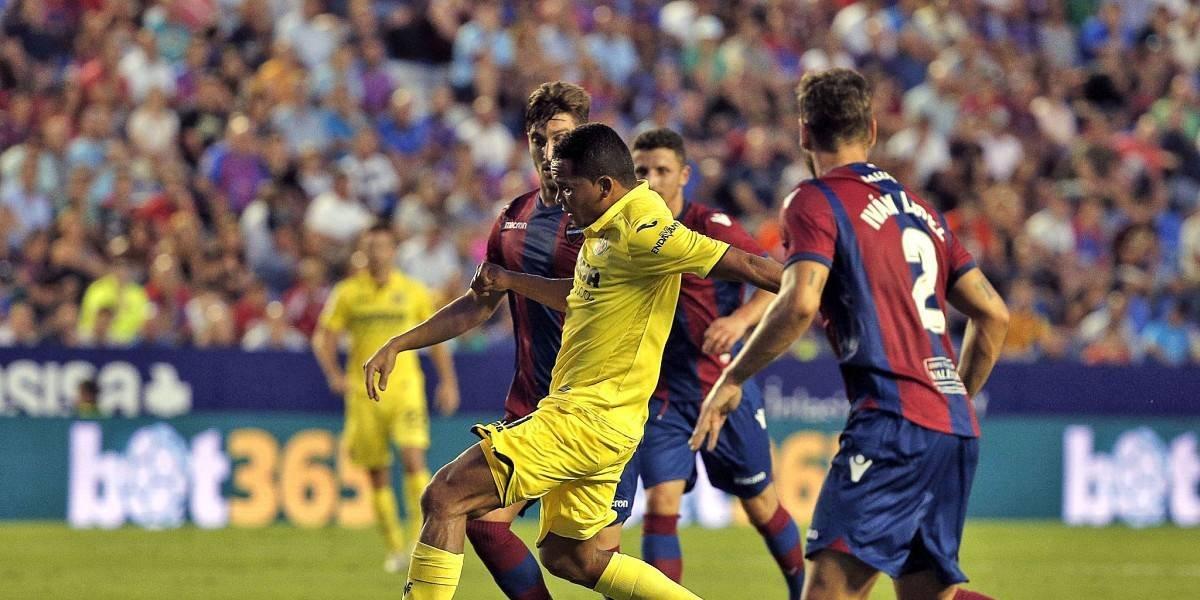 Bacca dejó buenas sensaciones en su debut con Villarreal, pese a la derrota