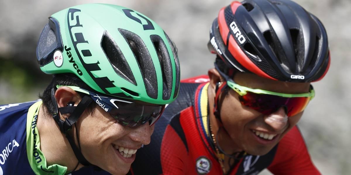 Esteban Chaves se sube al podio de la Vuelta a España
