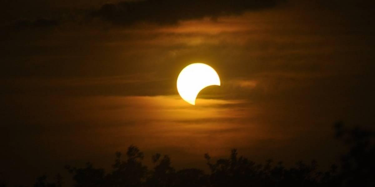 Posible actividad paranormal durante el eclipse