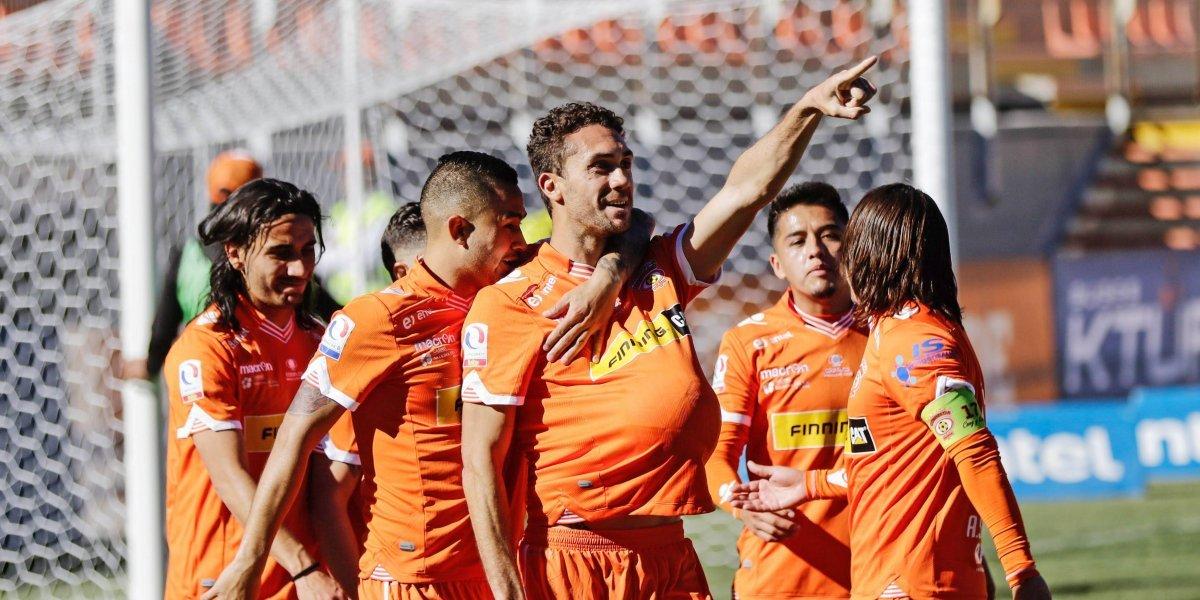 Cobreloa se impuso a Santiago Morning y mete presión al líder de la Primera B