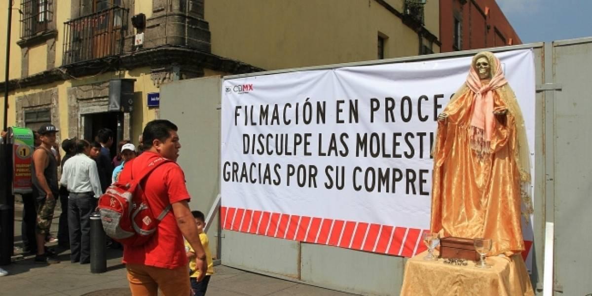 Cierran calles de la CDMX por grabación de película de Godzilla