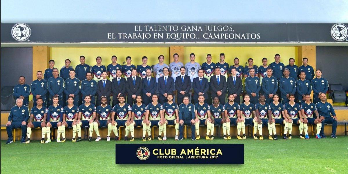América se saca la foto oficial del Apertura 2017