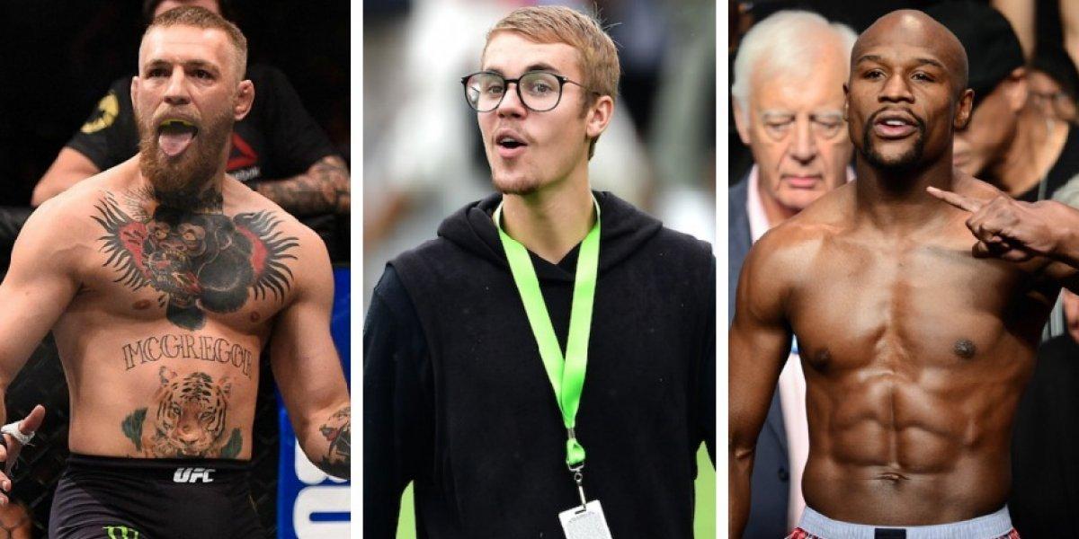Floyd Mayweather furioso con Justin Bieber ¡McGregor el culpable!