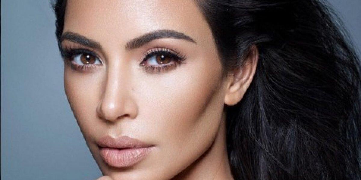 Kim Kardashian se unió a la fiebre del eclipse con esta foto