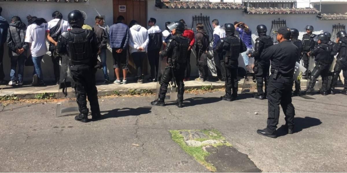 Policía Nacional detuvo a 53 personas por incidentes en el partido Liga vs. Nacional