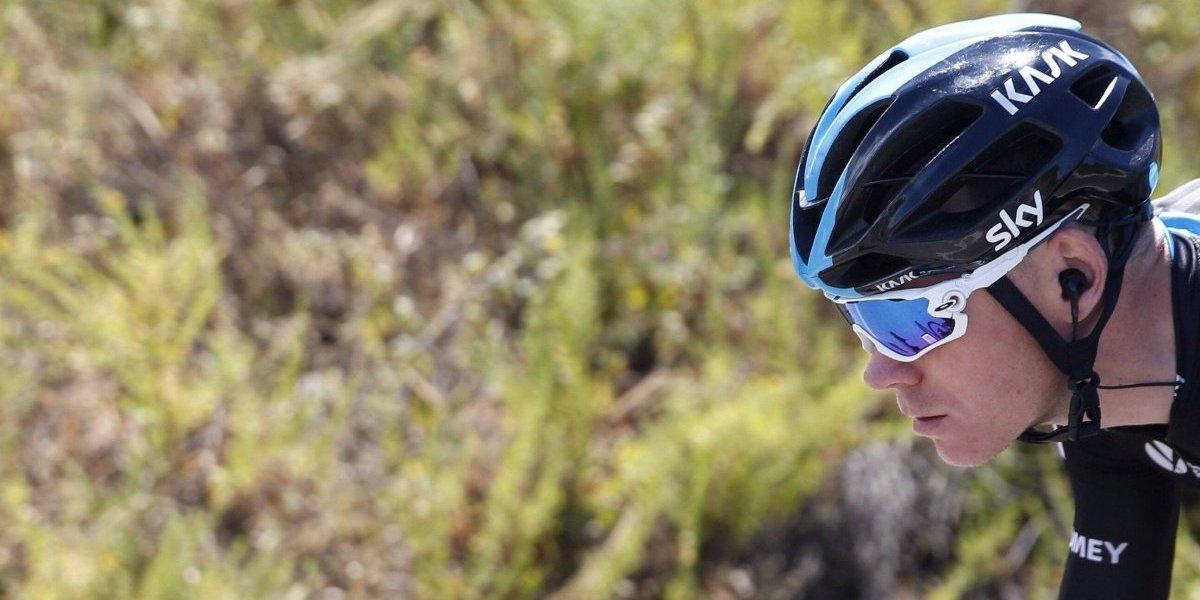 Chris Froome ya es líder de la Vuelta a España 2017