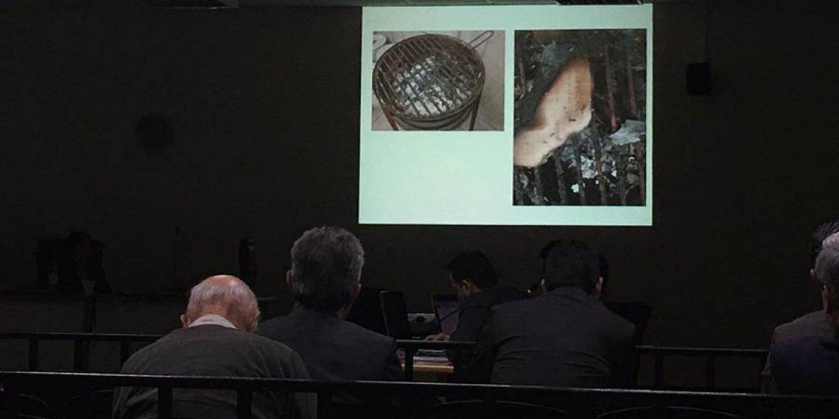 Churrasquera sirvió para quemar documentos que incriminan a Sinibaldi