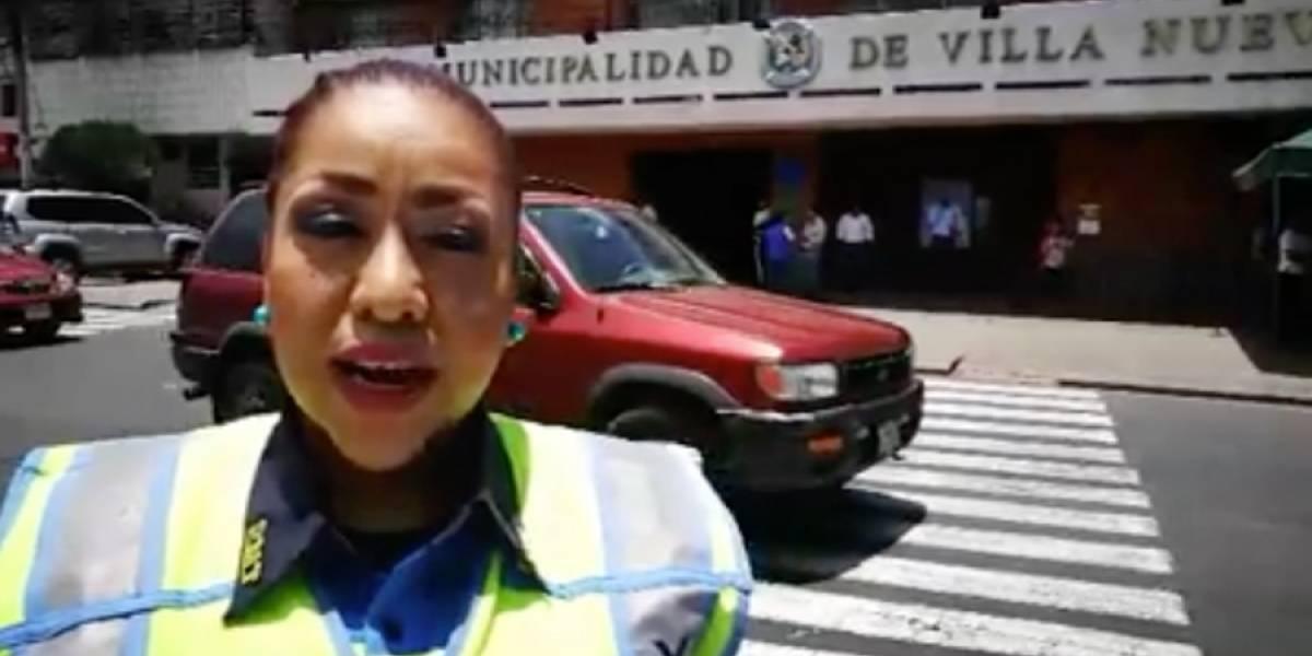 Nuevos horarios de reversibles para Villa Nueva, tras socavamiento en Boca del Monte