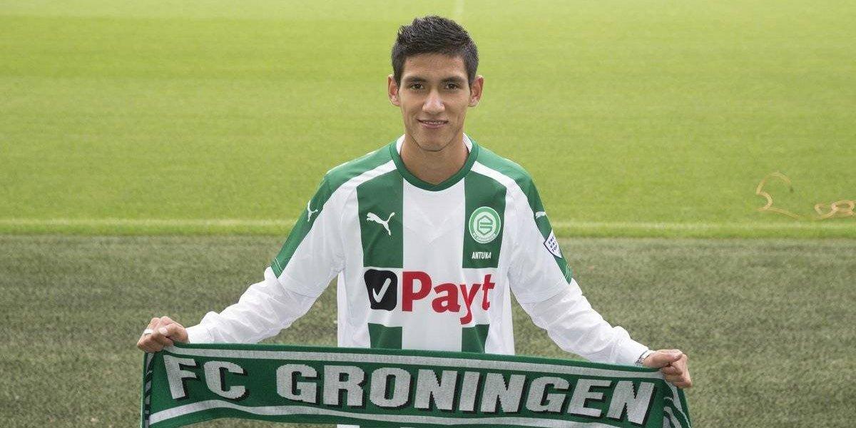 Uriel Antuna inicia su aventura en el futbol holandés