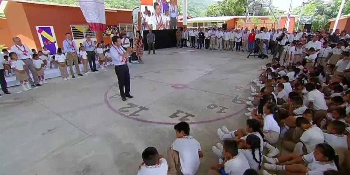 Estar contra reforma educativa es estar contra México: Peña Nieto