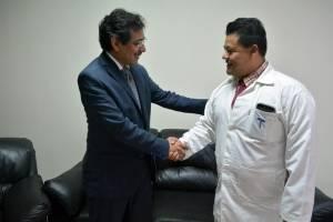 Luis Hernández, director del Hospital General San Juan de Dios