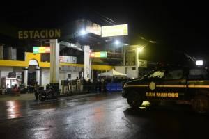 Localización de droga en San Marcos