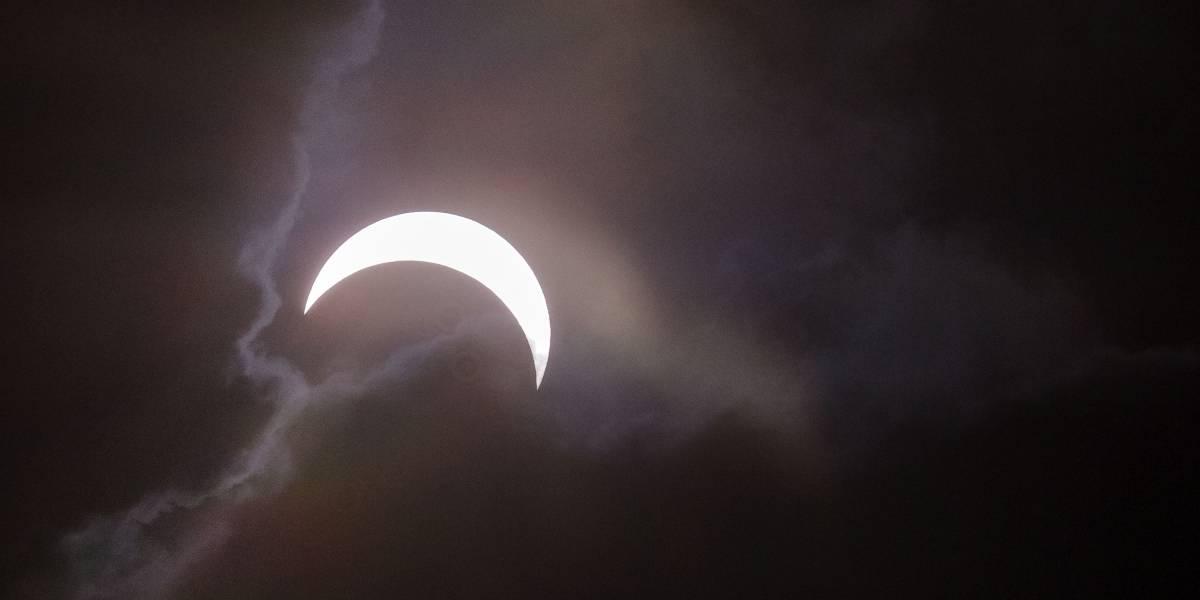 Así se vivió el eclipse solar en Colombia