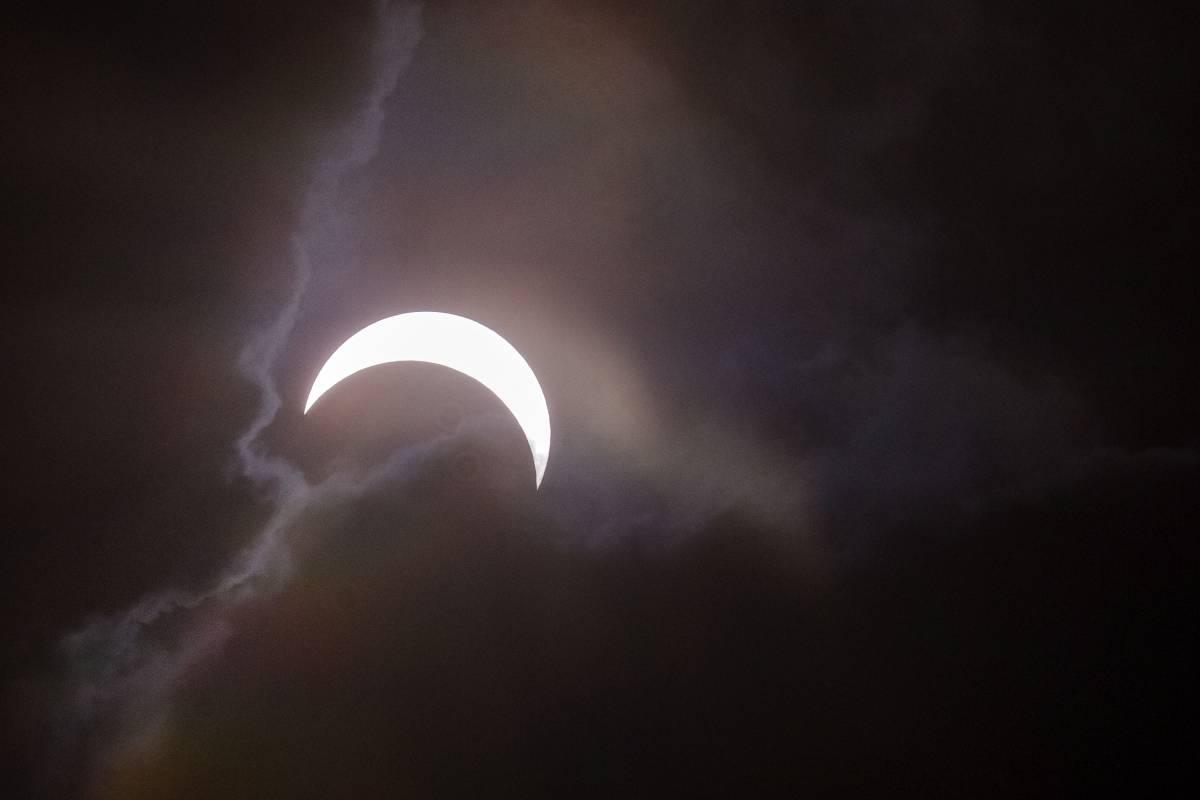 Así se ve el eclipse solar en Colombia este 21 de agosto de 2017 ...