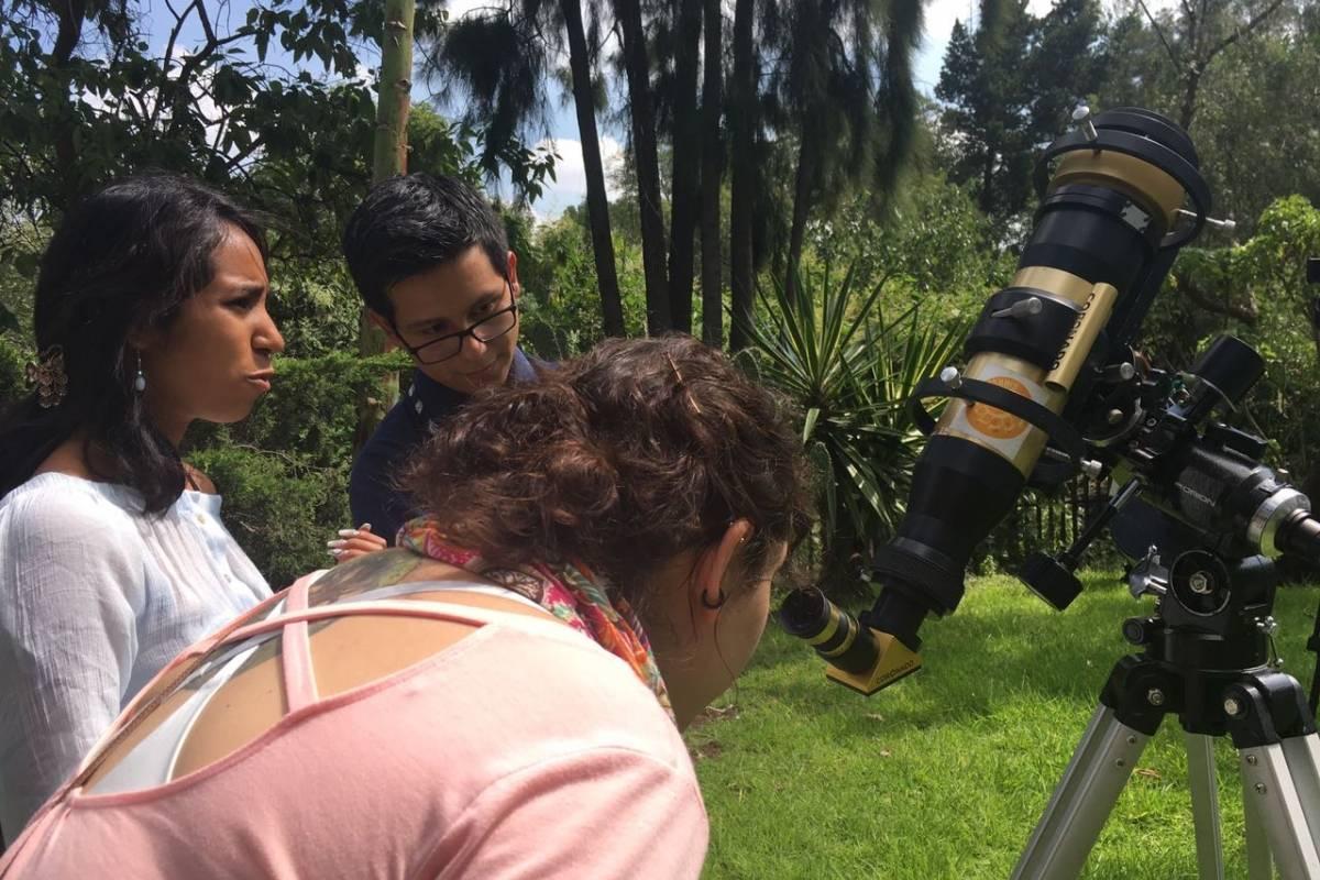 En la CDMX se dieron cita en la UNAM Foto: Nicolás Corte