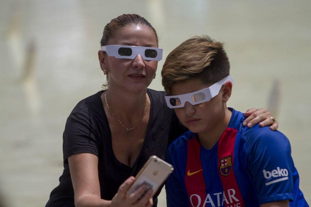 En Monterrey aprovecharon para tomarse la selfie Foto: Cuartoscuro