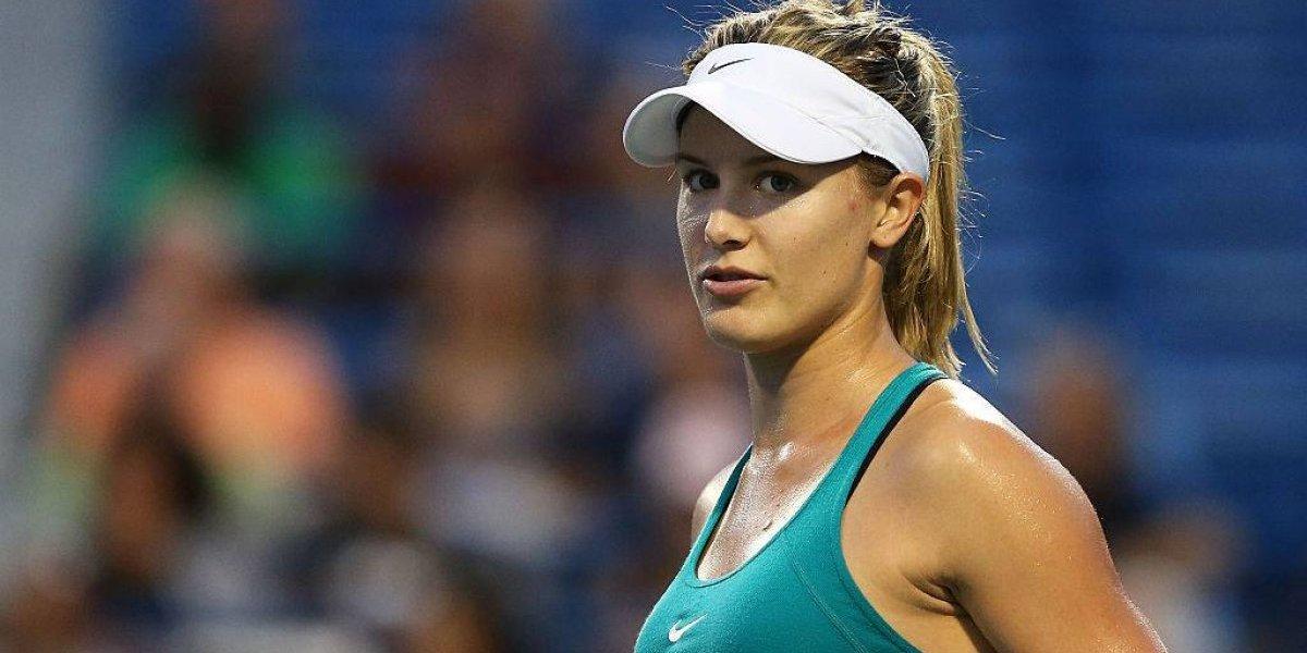 La tenista canadiense Eugenie Bouchard subasta una cita con ella con fines benéficos