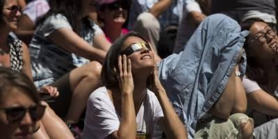 Eclipse solar visto desde Nueva York
