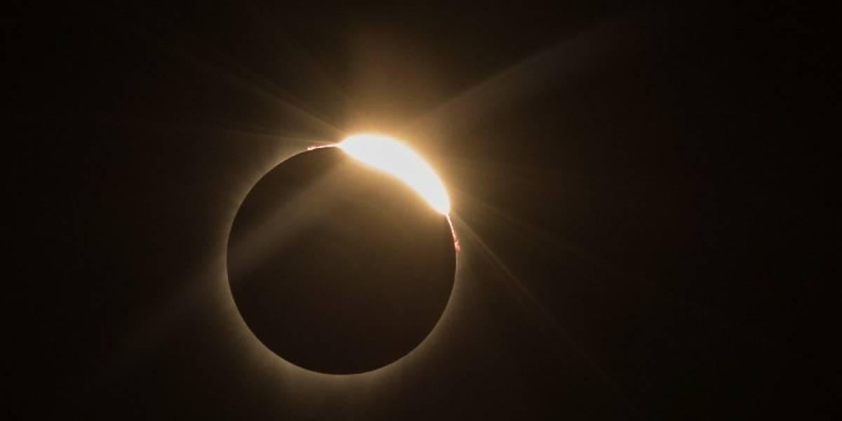 EN IMÁGENES. Así se vio el extraordinario eclipse solar del 21 de agosto