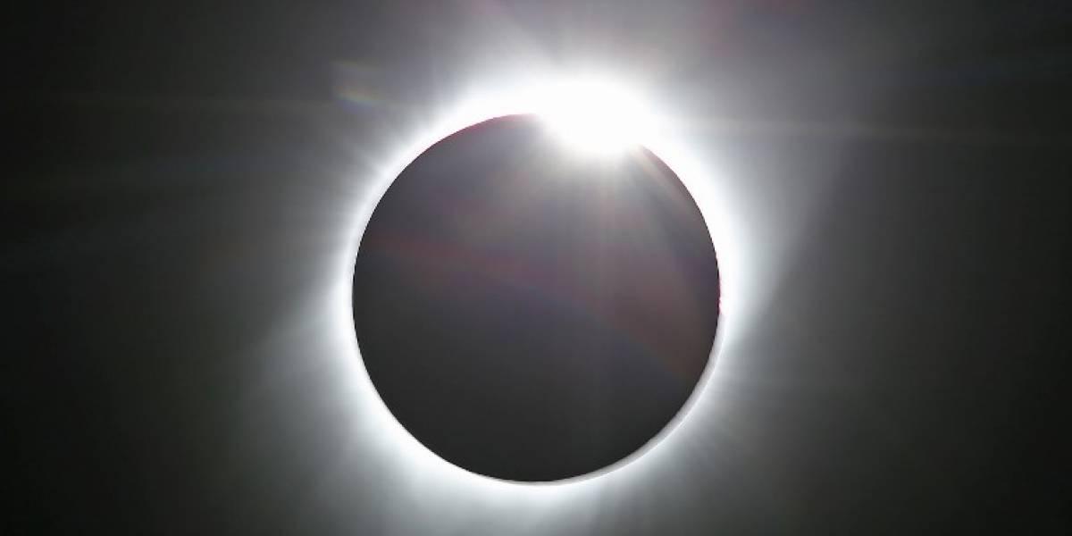 VIDEO. Así se vio el gran eclipse solar desde el espacio