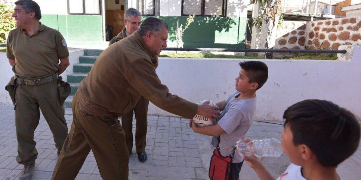 ¡Crack! General Villalobos sorprendió con su talento para el fútbol