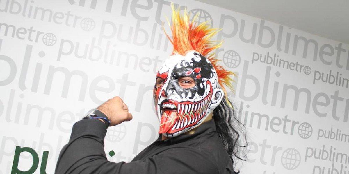 Psycho Clown ganó la lucha de máscaras a Dr Wagner Jr