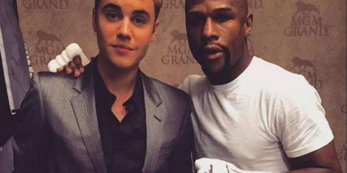 Floyd Mayweather furioso con Justin Bieber