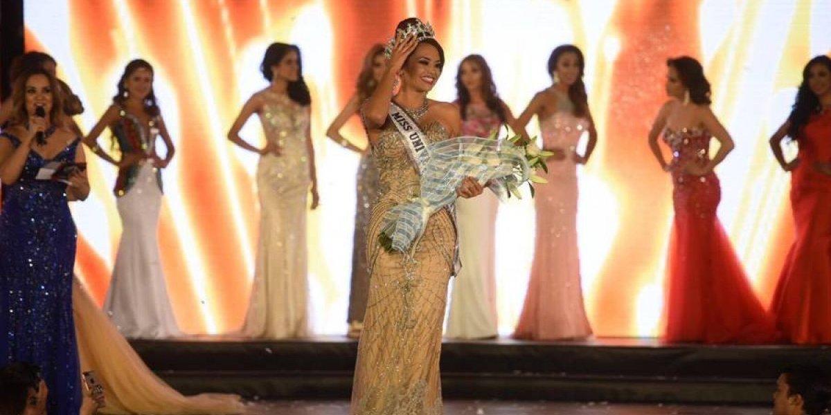 Isel Suñiga es la nueva Miss Guatemala