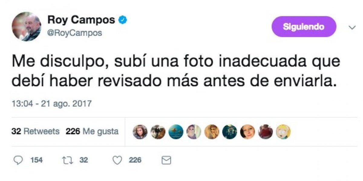El #EpicFail de Roy Campos en Twitter sobre el eclipse