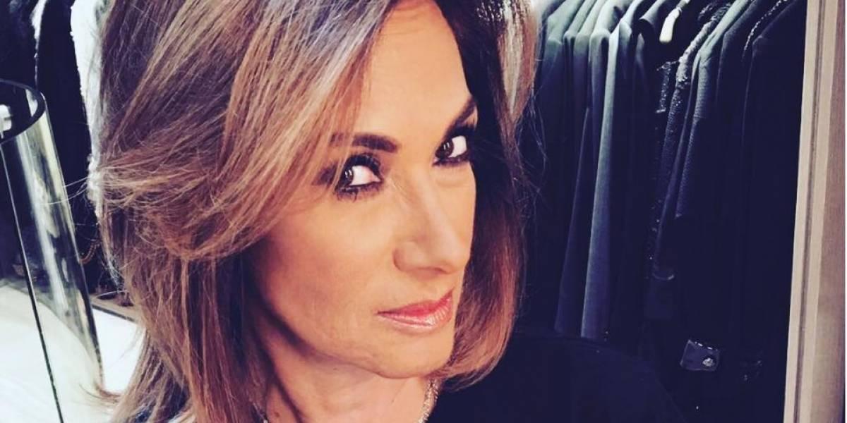 Video: Adela Micha sorprende con aparición en Tv Azteca