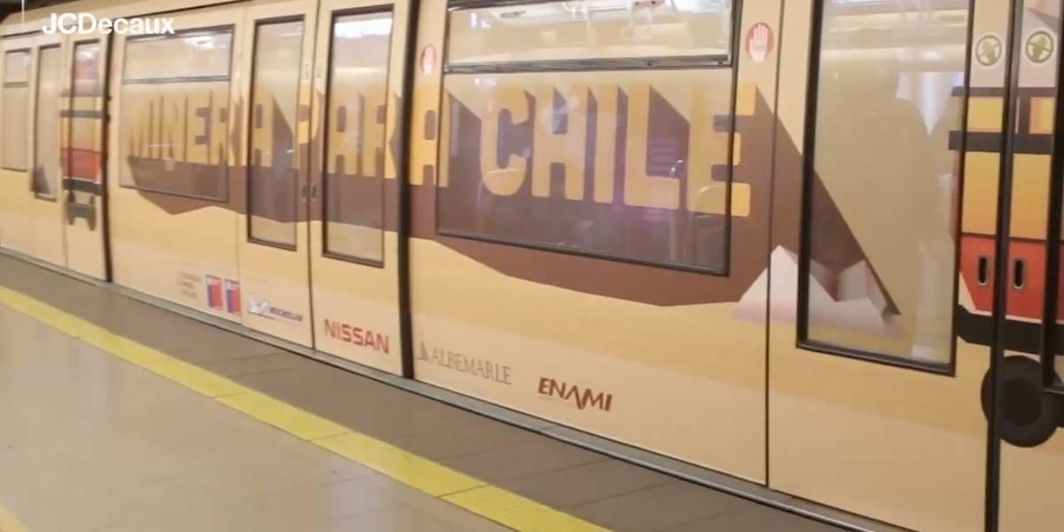 El Mes de la Minería se celebra con tren educativo patrocinado por Michelin