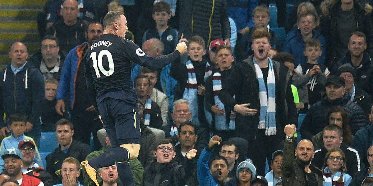Wayne Rooney alcanza un récord histórico en la Premier League