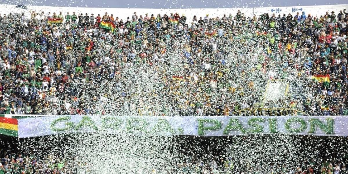 Federación boliviana dispuso solo de 28 mil entradas para el choque frente a Chile