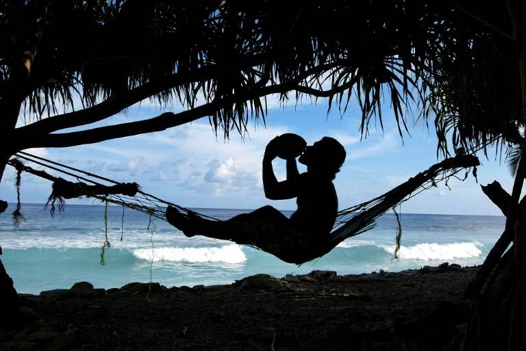 Tuvalu. AFP