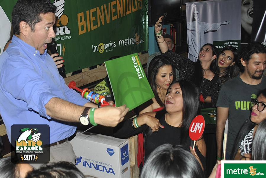 Metro Karaoke diario Metro Ecuador agencias publicidad