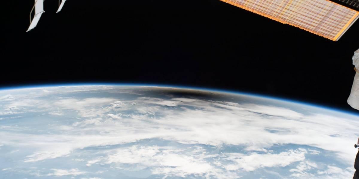 Así de espectacular se vio el eclipse solar desde el espacio