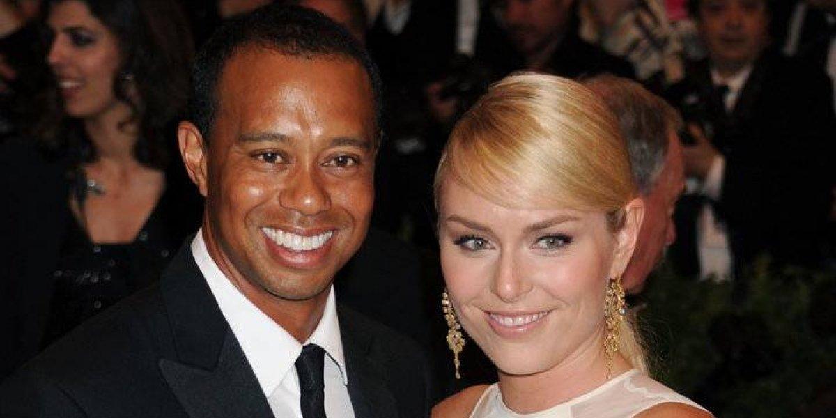 Filtran fotos intimas de Tiger Woods y su ex novia, la olímpica Lindsey Vonn