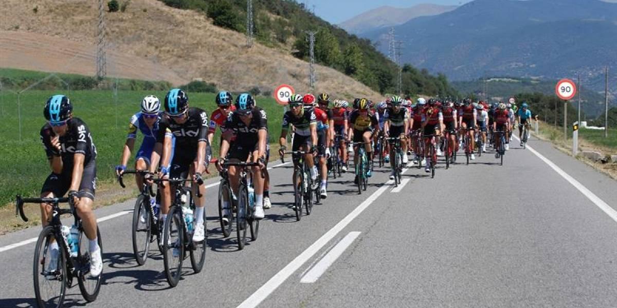 Etapa 4 de la Vuelta a España: Froome y Chaves siguen con su disputa en la general