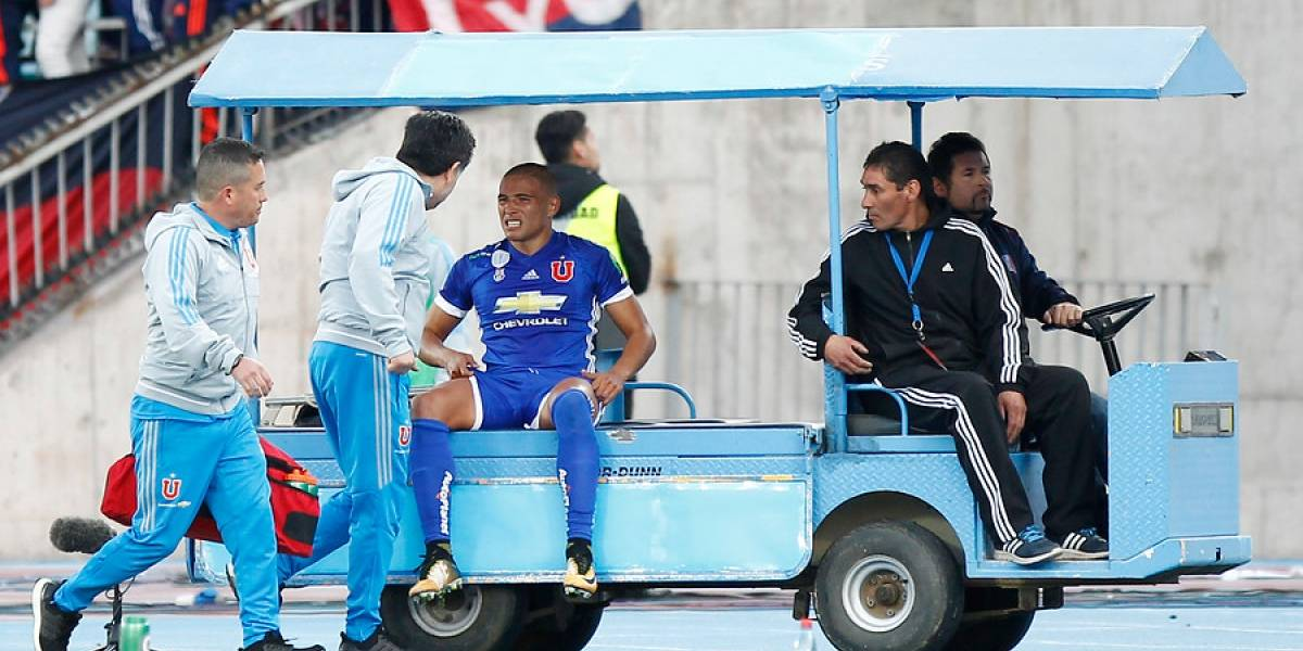 El peor pronóstico: Leandro Benegas se rompió los ligamentos y estará seis meses sin jugar en la U