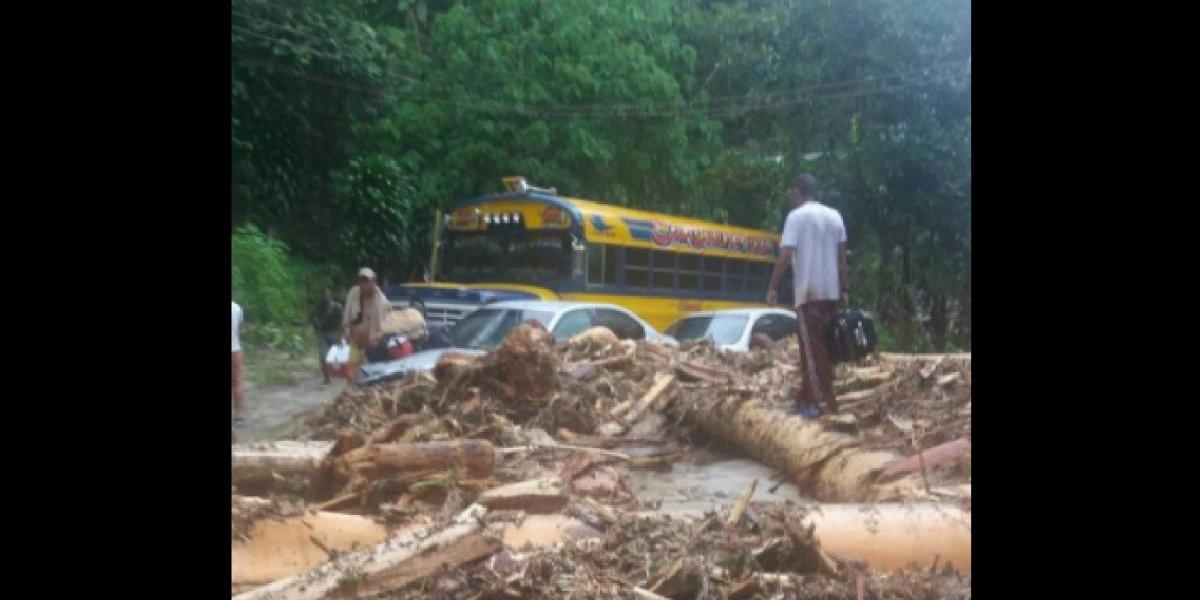 Venezuela cuatro fallecidos y varios desaparecidos deja crecida de río por fuertes lluvias