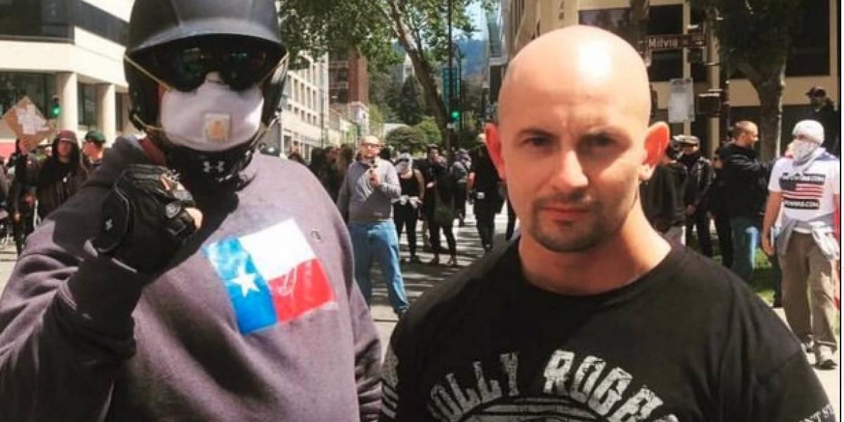 El colombiano pronazi que liderá las protestas contra los latinos en EEUU