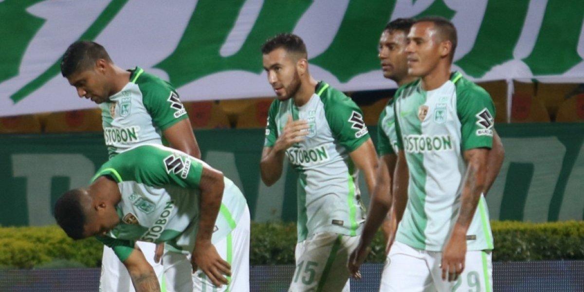 Atlético Nacional remonta y vence 3-2 a Millonarios