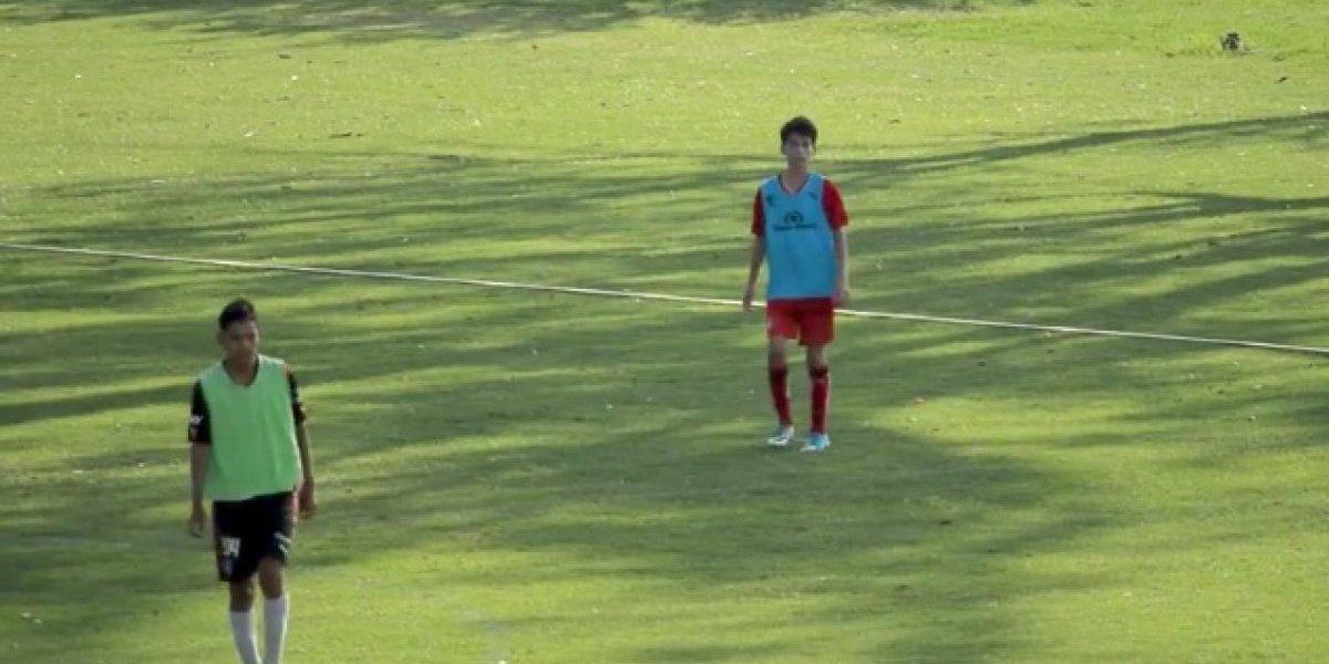Hijo de Rafa Márquez ya entrena con Atlas