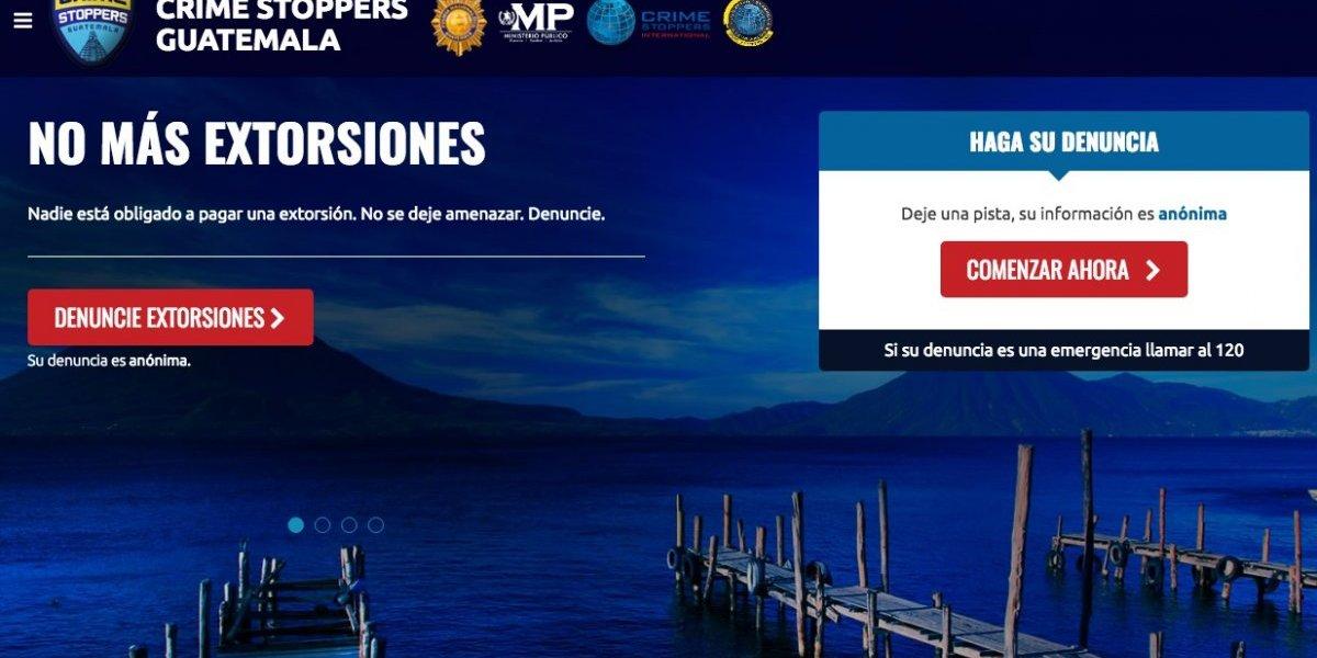 Implementan en Guatemala la plataforma de denuncia anónima Crime Stoppers