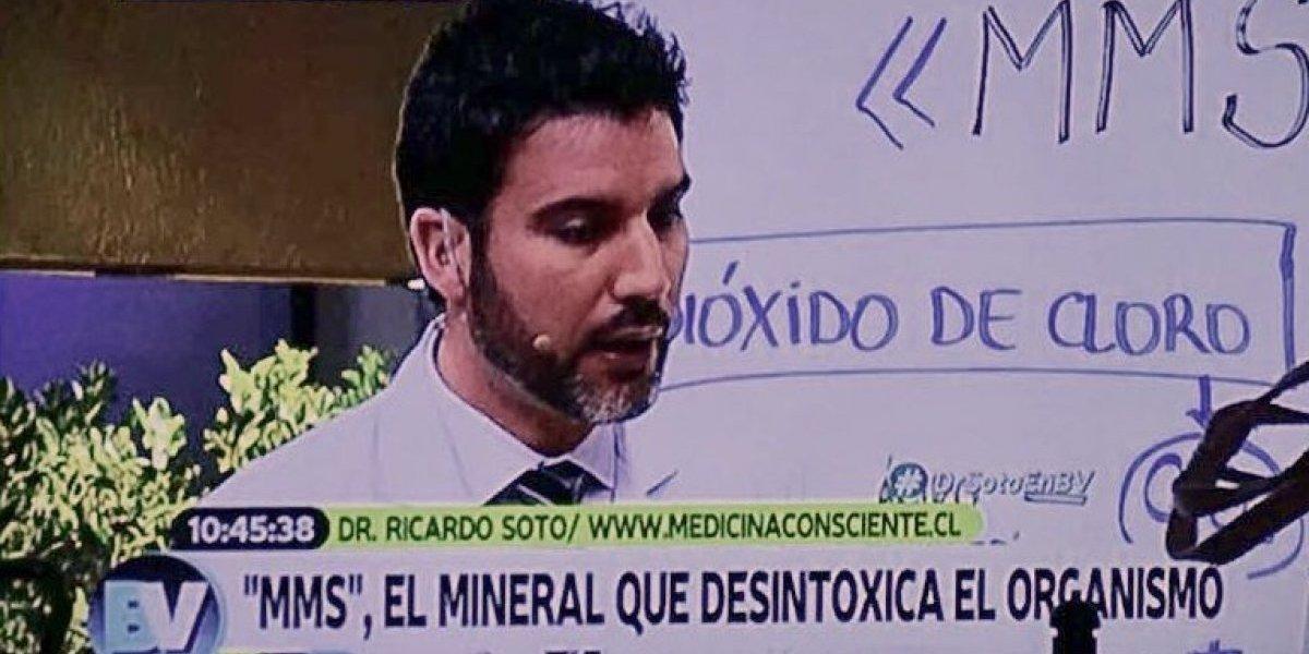 """Seremi de Salud alzó la voz por """"remedio milagroso"""" que se recomendó el doctor Soto en """"Bienvenidos"""""""