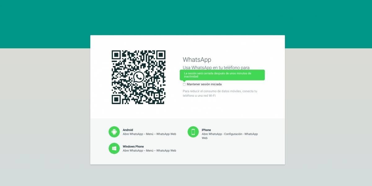 WhatsApp web incorpora nuevas funciones
