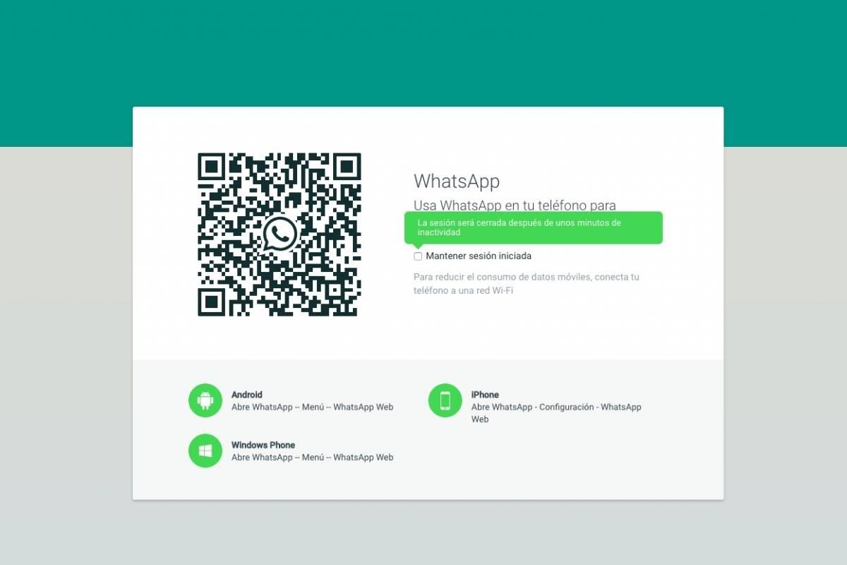 como configurar whatsapp web en iphone 4