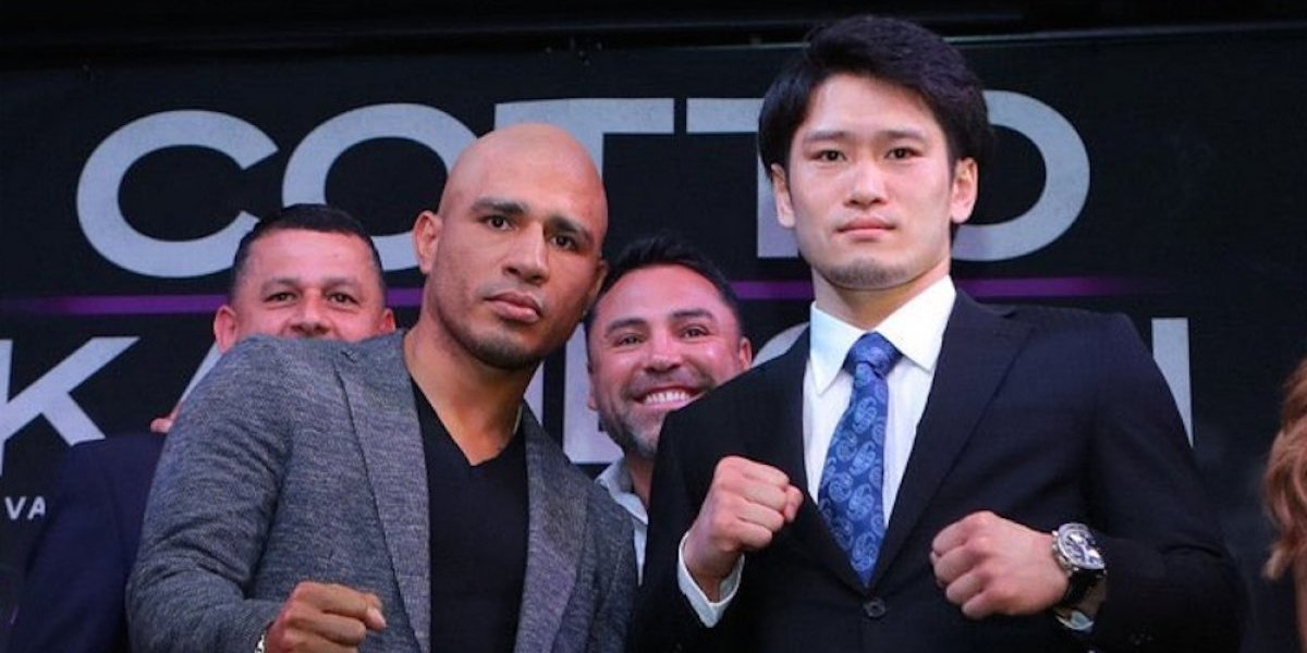 Miguel Cotto vs Yoshihiro Kamegai y Rey Vargas vs Ronny Ríos, el sábado en Los Ángeles