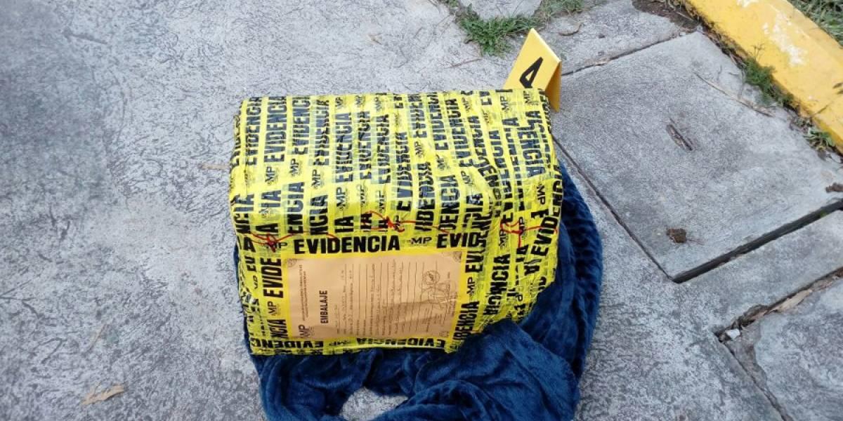 Capturan a oficial de PNC y a un exmilitar por intentar sustraer 42 paquetes de cocaína